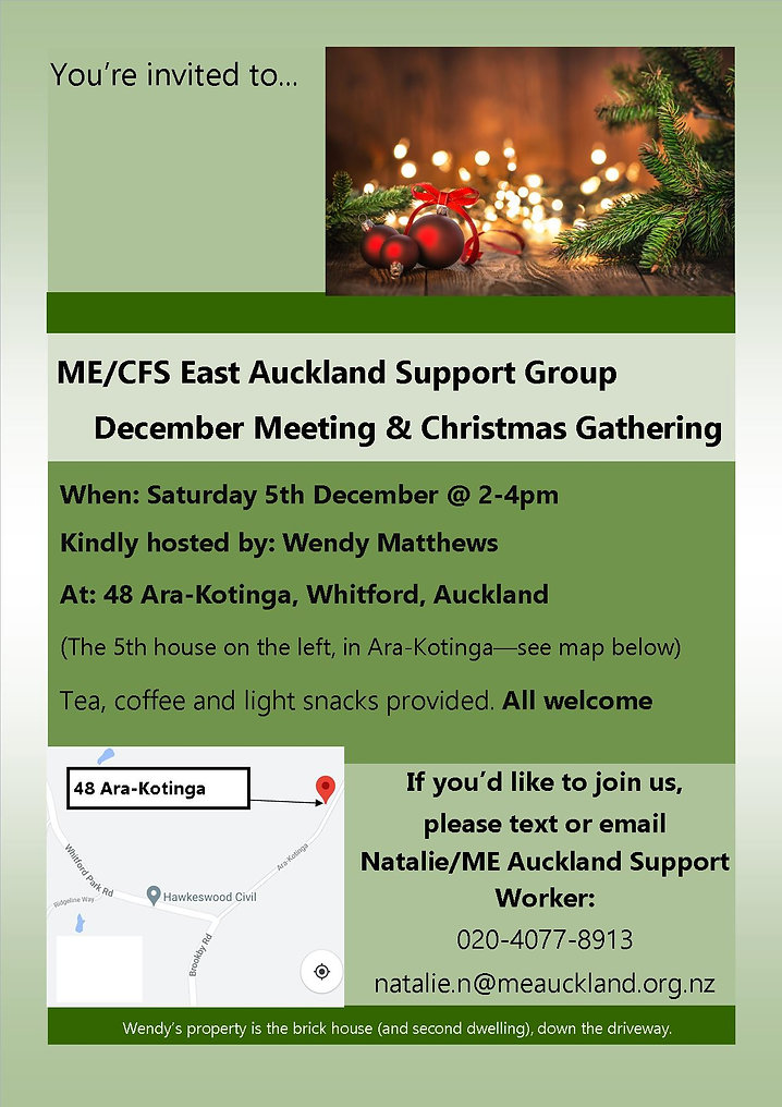 East Support Group December Invite JPG (