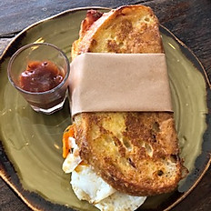 Bacon and Egg French Toast Sandwich