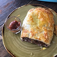 Beef and Cheese Sausage Roll