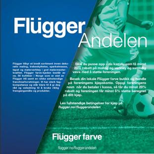 Få 20% hos Flügger med Sandnes VBK