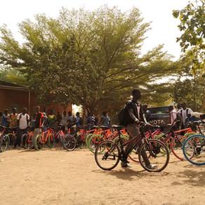 Tiempo récord: ¡Ya hay 60 bicicletas en Sandiara!