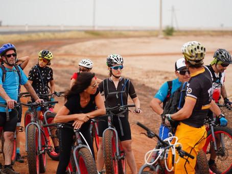 Primer edición del Viaje Solidario de Bikefriendly
