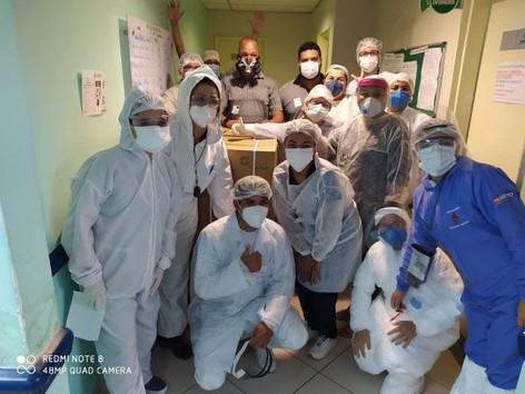 Aliança do Grupo Maersk envia respiradores para pequenos hospitais de Manaus