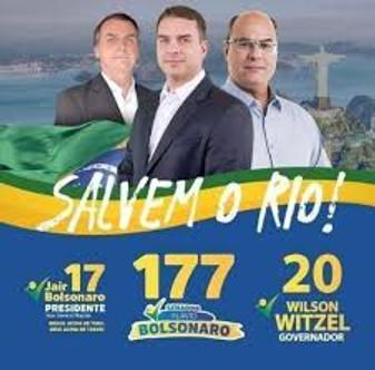 Deputados acusam Witzel de ter usado a imagem do clã Bolsonaro e ...