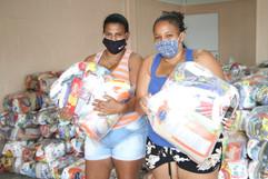 Educação de Maricá inicia distribuição de cestas para alunos da rede municipal