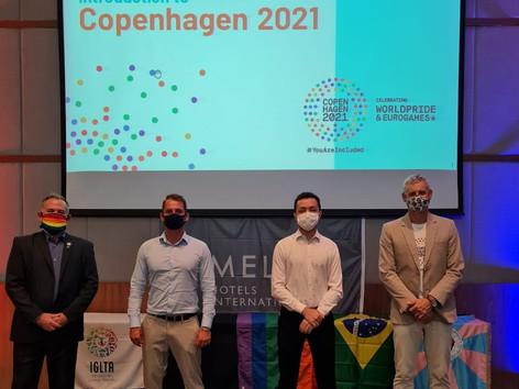 Câmara LGBT, IGLTA e Meliá Hotels apresentam Copenhagen 2021 para o mercado brasileiro