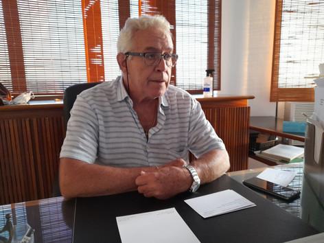 Comodoro promete renovar o Iate Clube Brasileiro
