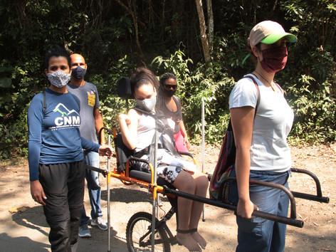 Neltur fecha parceria com o Clube de Montanhismo e amplia o projeto Ecotur Sem Barreiras