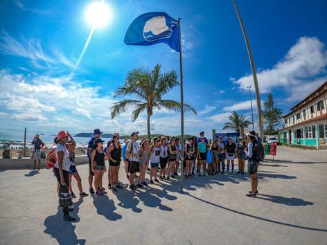 Júri aprova renovação da Bandeira Azul na Praia do Peró