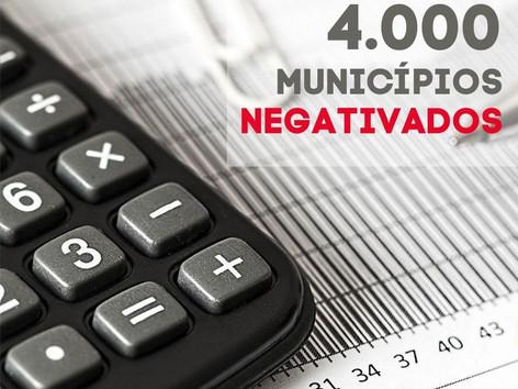 """75% das cidades do país estão no """"SPC"""" das Prefeituras"""