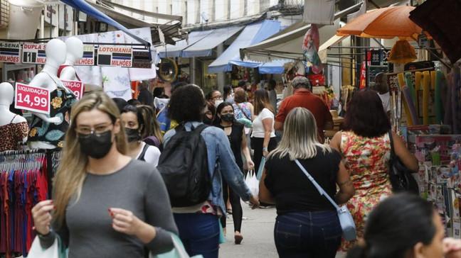 Pesquisa Fecomércio: 40,1% dos consumidores estão confiantes na economia fluminense