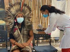 Vacina contra Covid-19 chega à aldeia indígena Mata Verde Bonita em Maricá