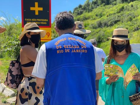 Ponta Negra em Maricá recebe o projeto de educação e preservação