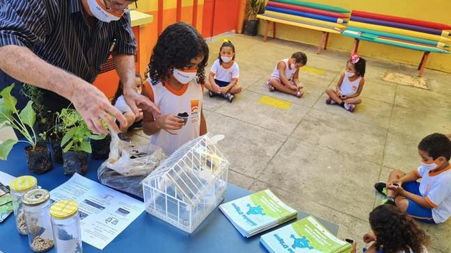 Alunos das escolas municipais de Niterói participam de atividades voltadas ao meio ambiente