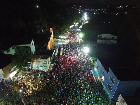 Carnaval do Rio do Ouro bate recorde de foliões