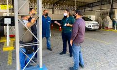 Comissão de Monitoramento do Detran visita postos para verificar qualidade do atendimento
