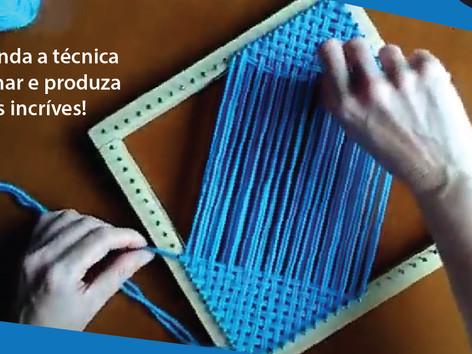Teresópolis promove Oficina de Tecelagem Online