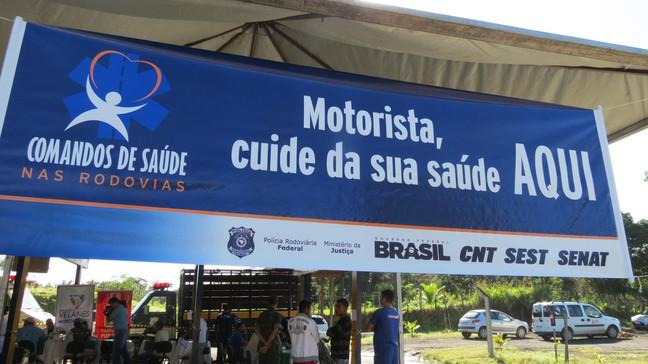 Rio-Teresópolis terá blitz pela saúde dos caminhoneiros nesta quinta-feira (29) em Três Córregos