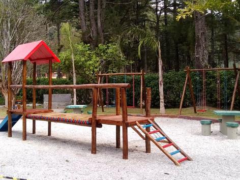 Horto Municipal de Teresópolis ganha parquinho infantil e fica aberto direto neste feriadão