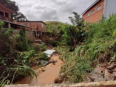Defesa Civil Nacional para ações após enxurrada em Três Rios