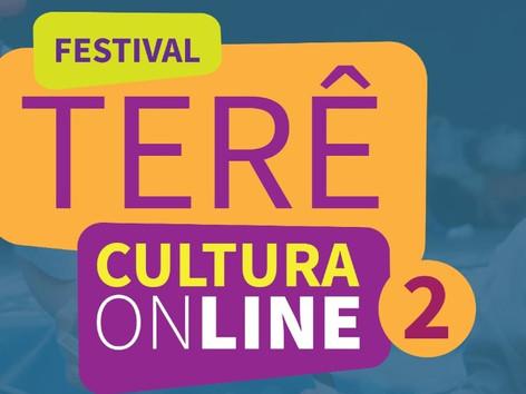 Inscrições para Festival Terê Cultura Online 2 seguem até 4 de novembro com cachês de R$ 1.000,00