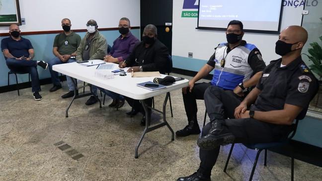 Conselho Comunitário de Segurança Pública se reúne em São Gonçalo