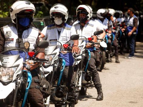 Segurança Presente de Niterói recebe 20 motos