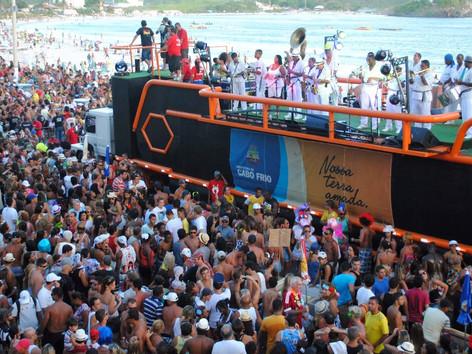 Carnaval está no calendário de eventos 2022 de Cabo Frio