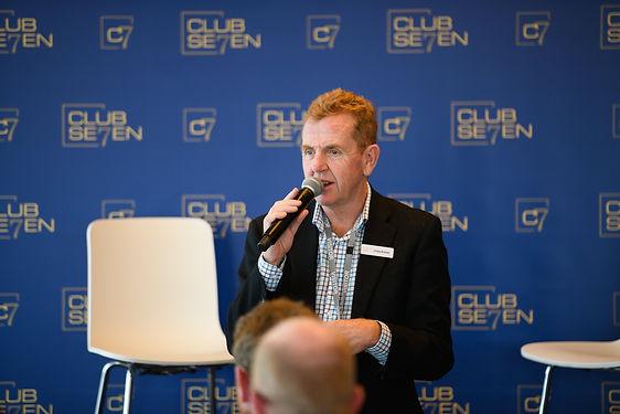 Craig EmCeeing an event