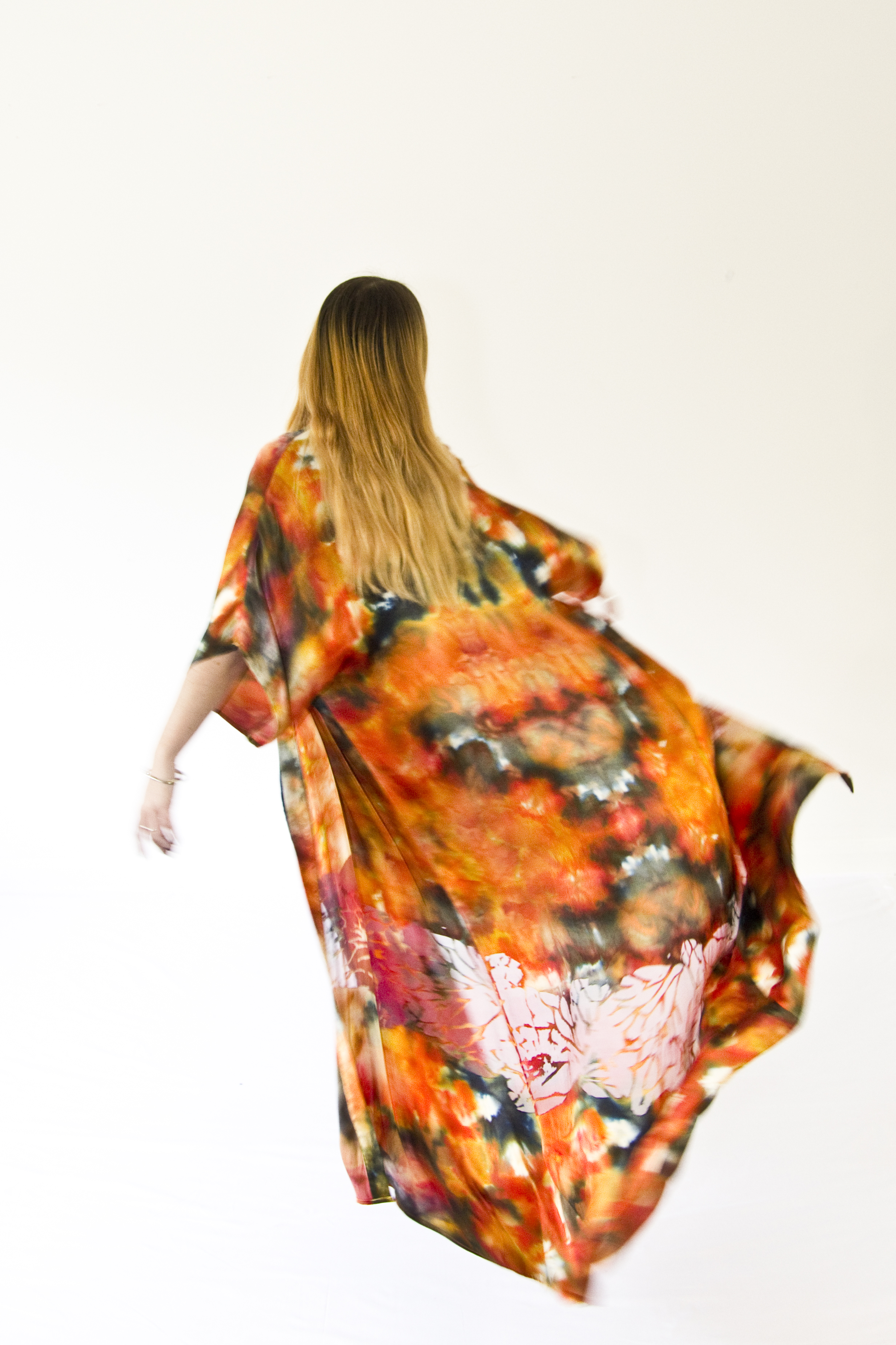 Hand Printed Robe