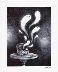 """Grandma's Box of Ghosts"""