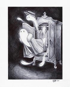 """Grandma's Closet of Ghosts"""