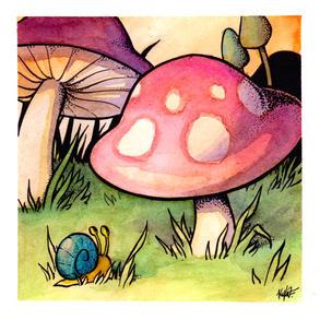 """Mighty Fine Mushroom"""