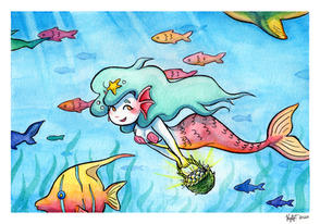 """Mermaid's Pearl Harvest"""