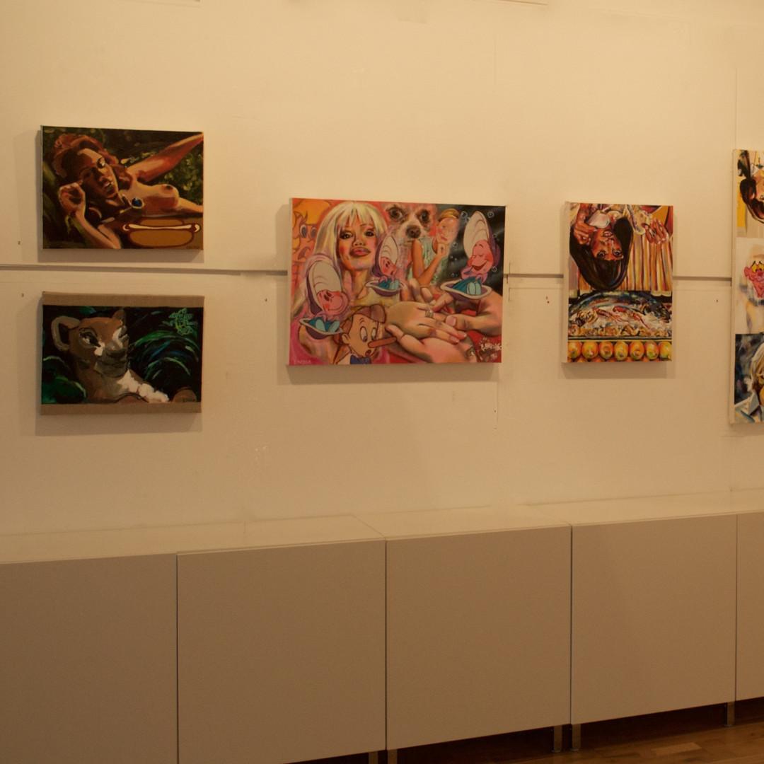 Royal Glasgow Institute Kelly Gallery, Glasgow, June 2019.