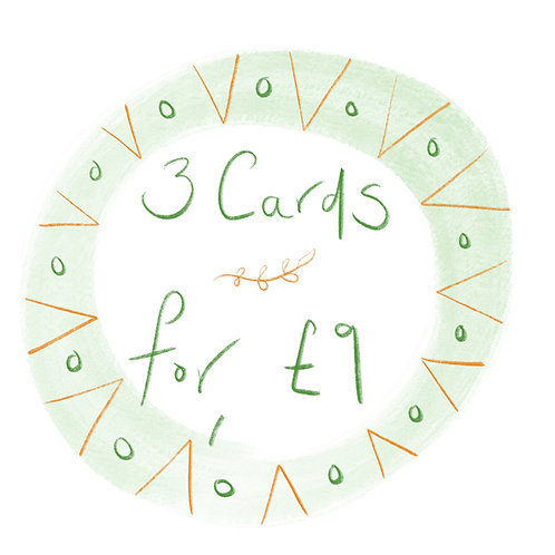 Buy 3 cards for £9!