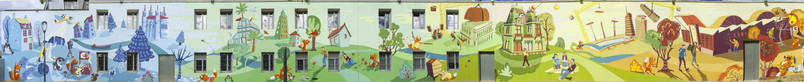 Fresque-peinture-murale-parc-zenith-lyon