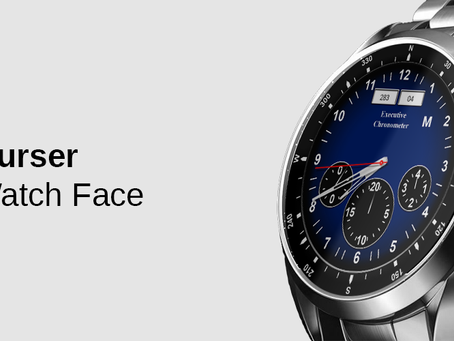 Courser Watch Face gets a big update on Wear OS Smartwatches