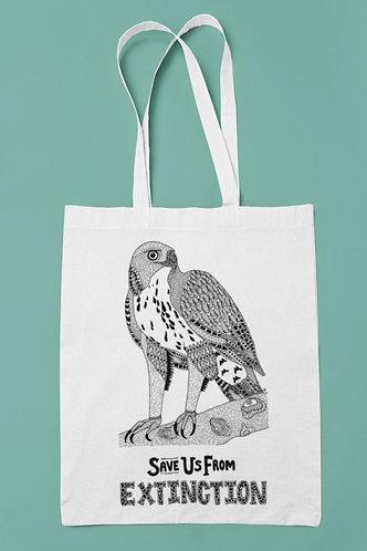 Changeable Hawk Eagle Tote Bag