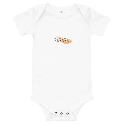 Baby Accessorize- Under The Sea Dolphin Baby One Piece