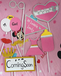 Babyshower props is now available 😍😍😍