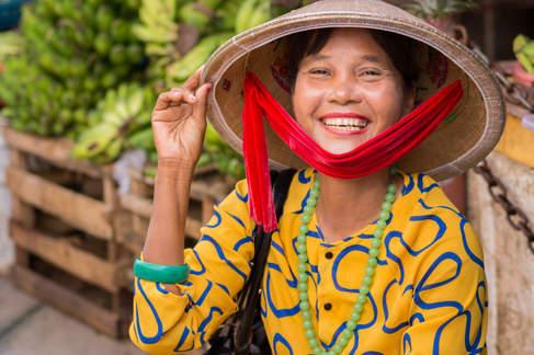 Wietnamska Kobieta, Hoi An