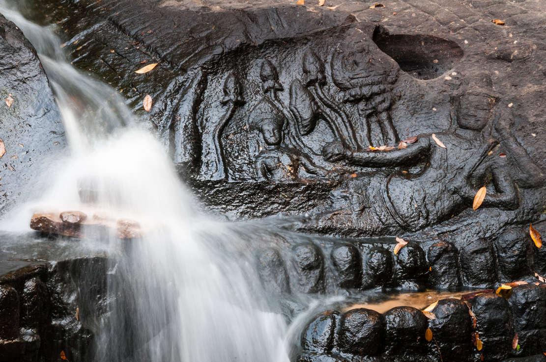 Kbal Spean, Angkor, Kambodża. Fotografia Maciej Rutkowski