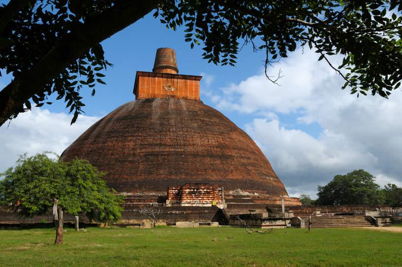 Stupa, Anuradhapura, Sri Lanka