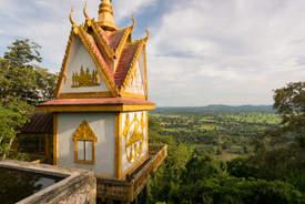 Kapliczka na wzgórzu Phnom Sampeau, Battambang