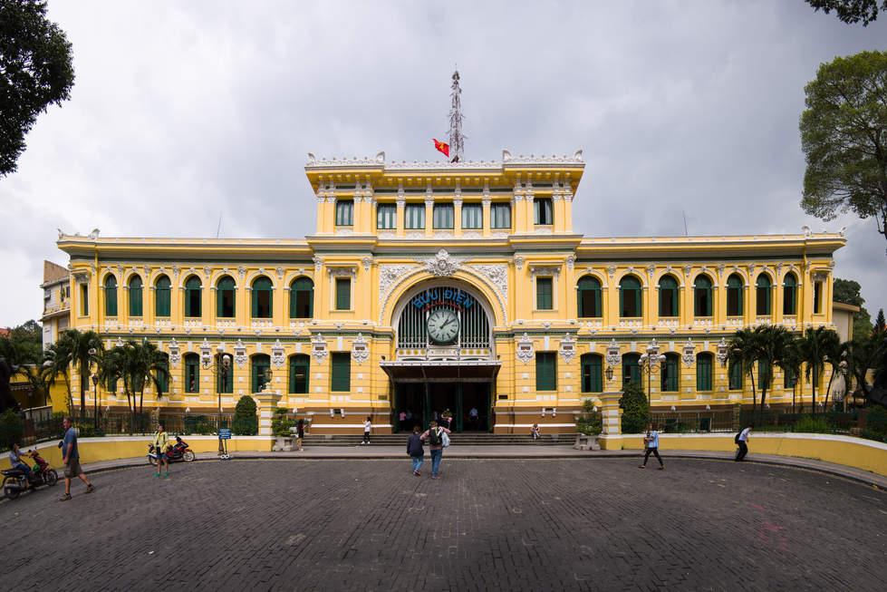 Budynek Poczty, Ho Chi Minh City