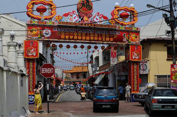 Chinatown, Melaka