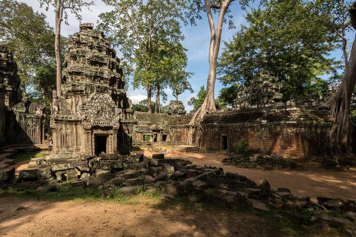 Ruiny Ta Prohm, Kambodża
