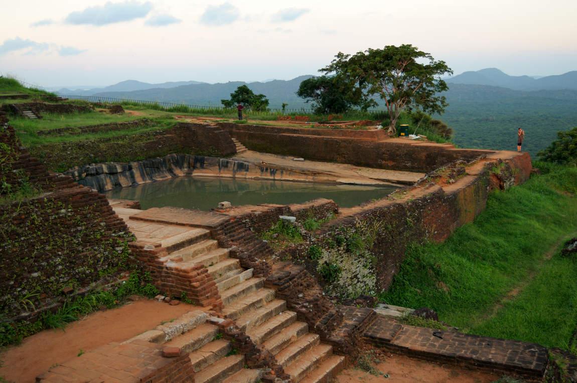 Pozostałości Pałacu, Lwia Skała Sigiriya
