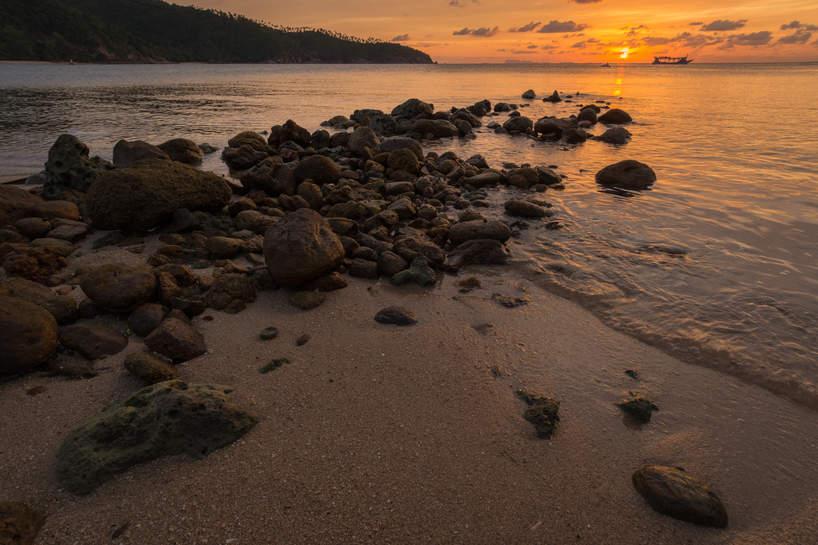 Zachód Słońca, Koh Pha Ngan